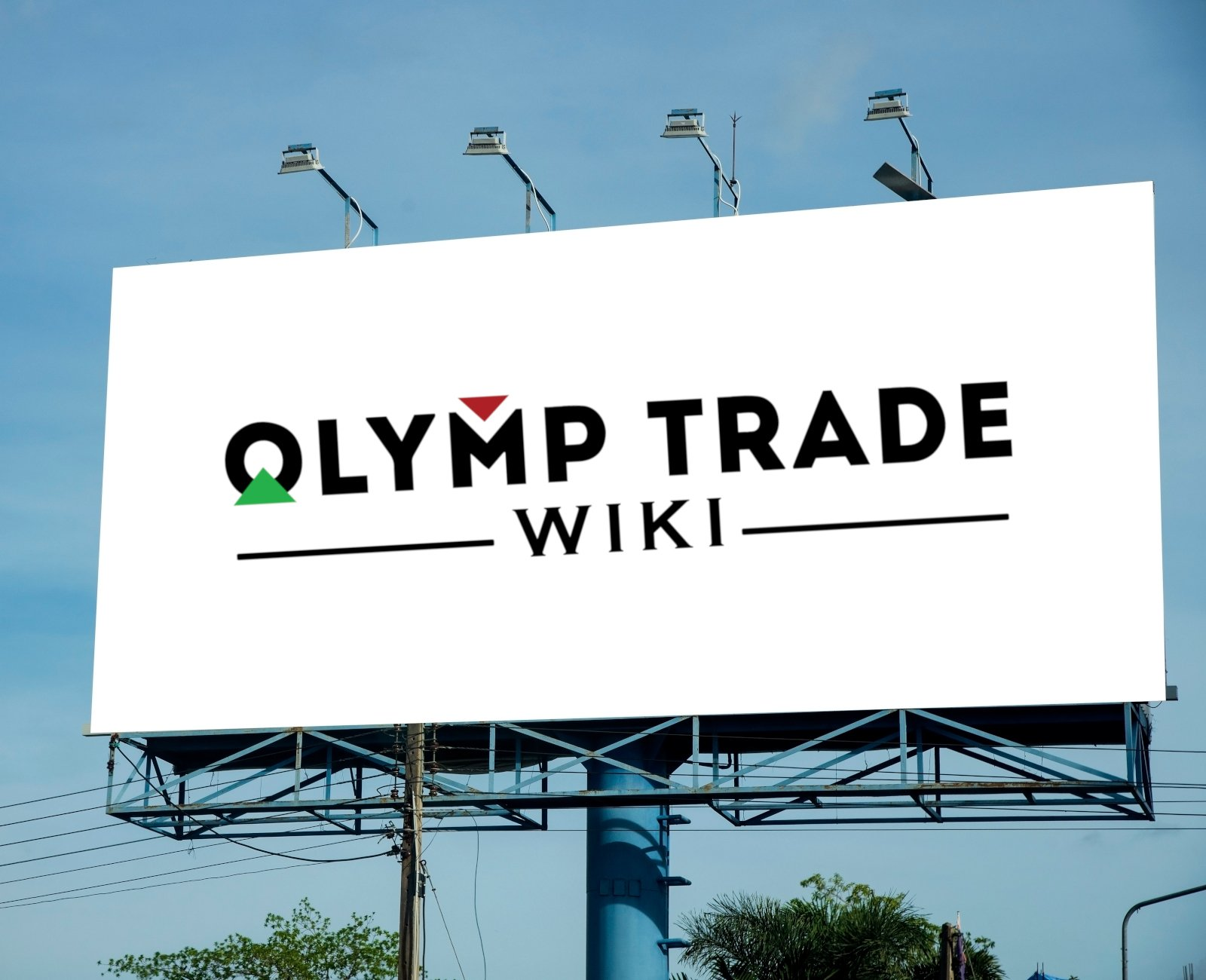 Olymp Trade billboard