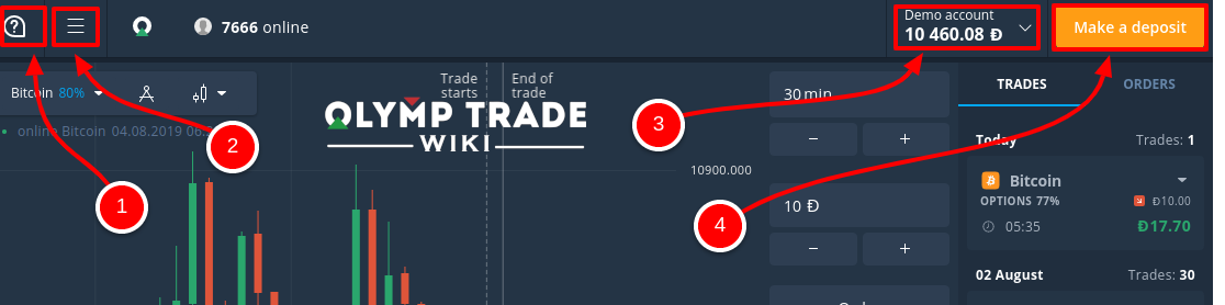 olymp trade guide